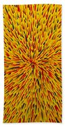 Radiation Yellow  Beach Towel