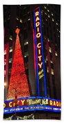 Radio City Music Hall Beach Towel