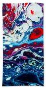 Raging Storm  Beach Towel