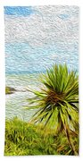 Raglan Coastline Beach Towel