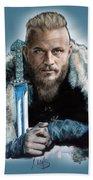 Ragnar Lothbrok Beach Towel