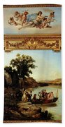 Rahoult Charles Diodore Allegory Of Spring Beach Towel