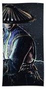 Raiden - Mortal Kombat Beach Towel
