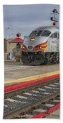 Rail Runner Train Albuquerque Nm Sc02985 Beach Towel
