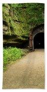 Rail Trail Tunnel 2 A Beach Towel