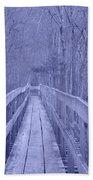 Railroad Bridge Beach Towel