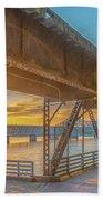 Railroad Bridge12 Beach Towel
