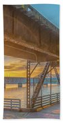 Railroad Bridge12 Beach Sheet