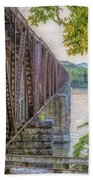 Railroad Bridge14 Beach Towel