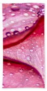 Rain Drop Jewels  Beach Towel
