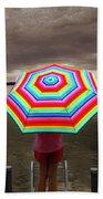 Rain Rain Go Away Beach Towel