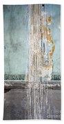Rain Ruined Wall Beach Towel