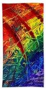 Rainbow Abstract Beach Towel