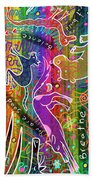 Rainbow Animals Yoga Mat Beach Towel