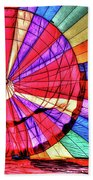 Rainbow Balloon Beach Towel