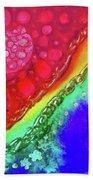 Rainbow Coaster  Beach Towel