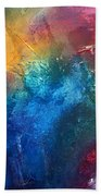 Rainbow Dreams II By Madart Beach Towel