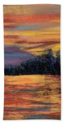 Rainbow Evening Beach Towel