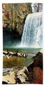 Rainbow Falls 2 Beach Towel