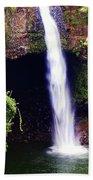 Rainbow Falls Iv Beach Towel