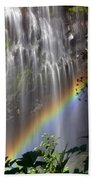Rainbow Falls Beach Towel