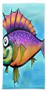 Rainbow Fish Beach Towel