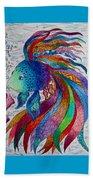 Rainbow Fish Beach Towel
