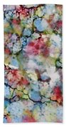 Rainbow Granite Beach Towel