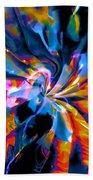 Rainbow Nebula Beach Towel