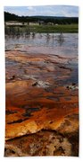 Rainbow Pool - Yellowstone Np Beach Towel
