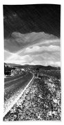 Rainbow Road - Id 16217-152021-8918 Beach Towel