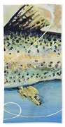 Rainbow Trout Beach Towel