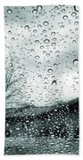 Raindrops Beach Towel