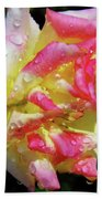 Raindrops On A Rose Beach Towel