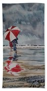 Raindrops To Seaglass Beach Towel