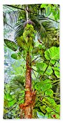 Rainforest Green Beach Towel