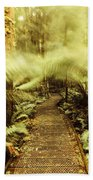 Rainforest Walk Beach Towel
