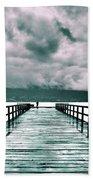 Rainy Days In Summerland 2 Beach Towel