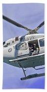 Ran N49 Bell 429 Global Ranger N49-048 Beach Towel