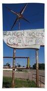 Ranch House Cafe Beach Towel