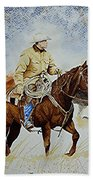 Ranch Rider Beach Towel