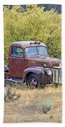 Ranch Truck II Beach Sheet