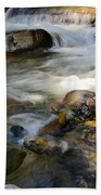 Rapids And Boulders Beach Towel