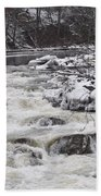 Rapids At Bull's Bridge 1 Beach Towel