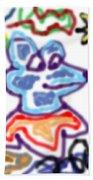 Rat Doodle Beach Towel