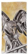 Raven Beach Towel