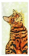 Ravi Series #7 Beach Towel