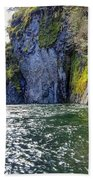 Ravine Of Color Beach Towel