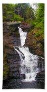 Raymondskill Falls Beach Towel