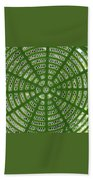 Rays And Circles Abstract 01 Beach Towel
